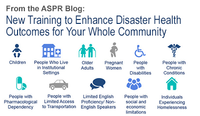 New Training to Enhance Disaster Health Outcomes for Your Whole Community