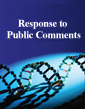 Response to Public Comments on Draft