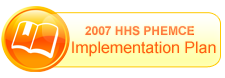 View 2007 HHS PHEMCE Implementation Plan