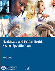 2016 Healthcare and Public Health Sector-Specific Plan Cover