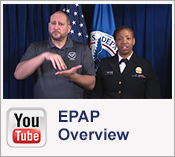 You Tube:  EPAP Overview