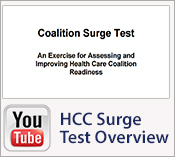 Overview of the Health Care Coalition Surge Test Tool
