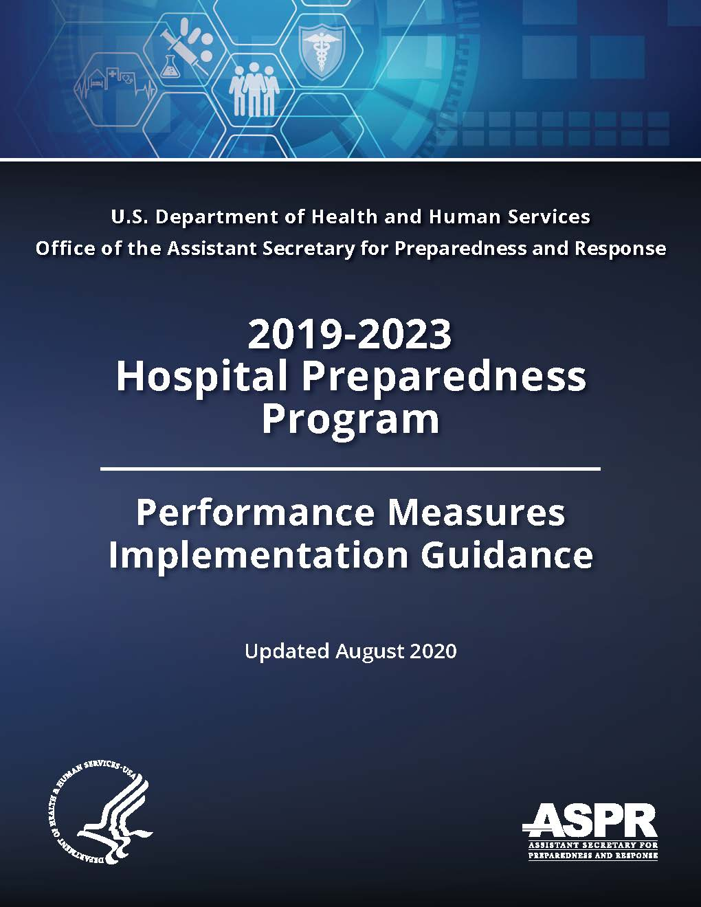 2019-2023 Hospital Preparedness Program Performance Measures Implementation Guidance - Updated August 2020