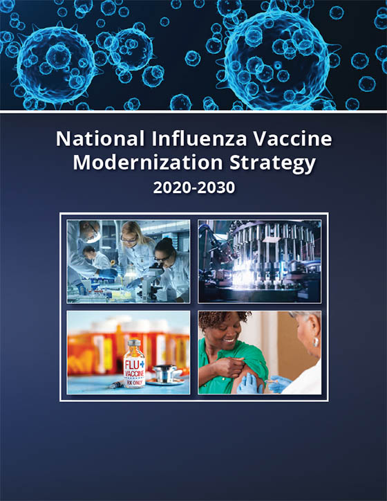 Cover of the National Influenza Vaccine Modernization Strategy 2020-2030
