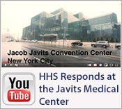 Video: HHS Responds at the Javits Medical Center