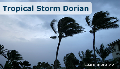 Prepare for Tropical Storm Dorian