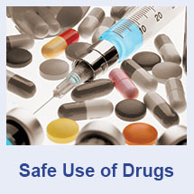 Safe use of drugs