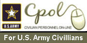Civillian Personnel Online:  Information for U.S. Army Civillians