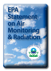 EPA Statement on Air Monitoring and Radiation