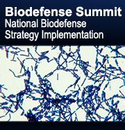 Biodefense Summit:  National Biodefense Strategy Implementation