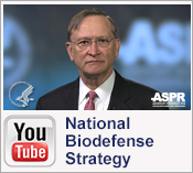 YouTube: National Biodefense Strategy