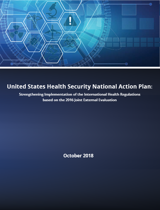 U.S. Health Security National Action Plan: Strengthening Implementation of the International Health Regulations