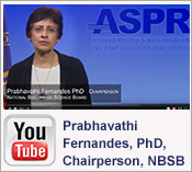 YouTube Video: Prabhavathi Fernandes, Ph.D.,Chairperson of the National Biodefense Science Board (NBSB)