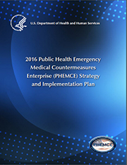 2016 PHEMCE Strategy and Implementation Plan Cover
