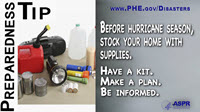 Preparedness Tip Thumbnail:  Supplies
