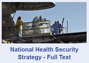 National Health Security Strategy - Full Text