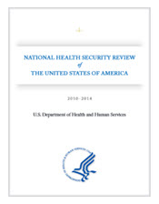 Cover of the National Health Security Review 2010-2014