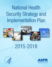 Cover of the National Health Security Stategy and Implementation Plan, 2015-2018