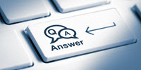 Question and Answer button on keyboard