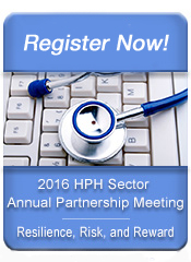 Abstract submission  - 2016 HPH Sector Annual Partnership Meeting - Resilience, Risk, and Reward