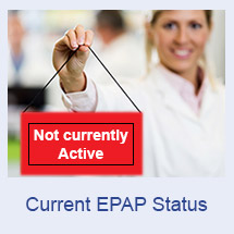 Current EPAP Status - Currently Not Active