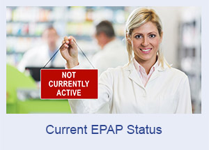 Current EPAP Status - Not Active