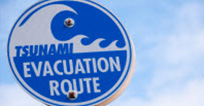 Tsunami Evacuation Sign
