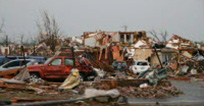 Devistation from the tornado in Joplin