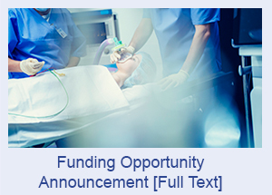 Funding Opportunity Announcement [Full Text]