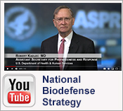YouTube Video: Dr. Kadlec - National Biodefense Strategy