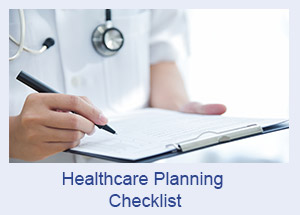 Healthcare Planning Emergency Checklist
