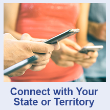 Stay Connected with your state or territory