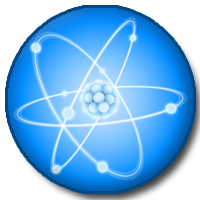 Picture of atom