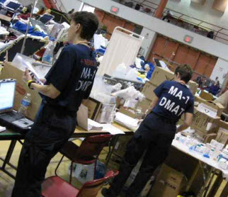 NDMS DMAT MA-1 Response Workers